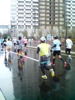 2011-東京マラソン(平成23年2月27日)救援トレーナーに任命