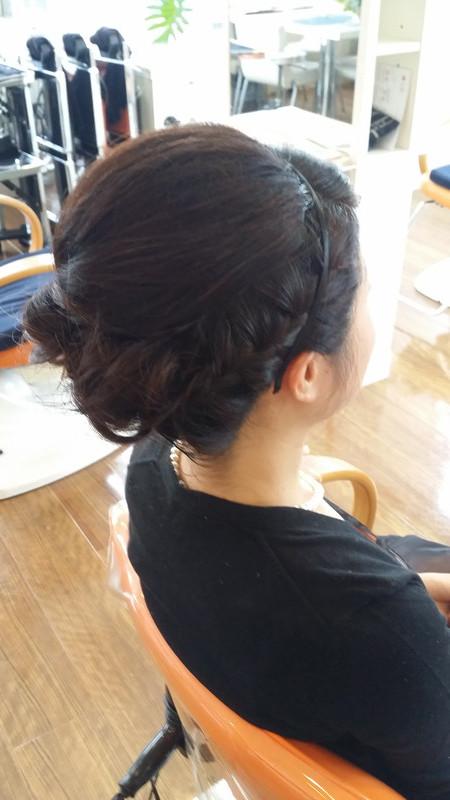 結婚式のヘアメイク